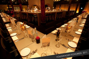 Event Foto eines festlichen Dinners