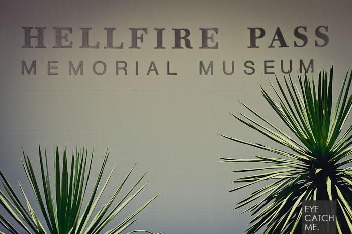 Der Fotograf aus Köln hat dieses Foto des Hellfire Museeums gemacht, es zeigt den Eingangsbereich.