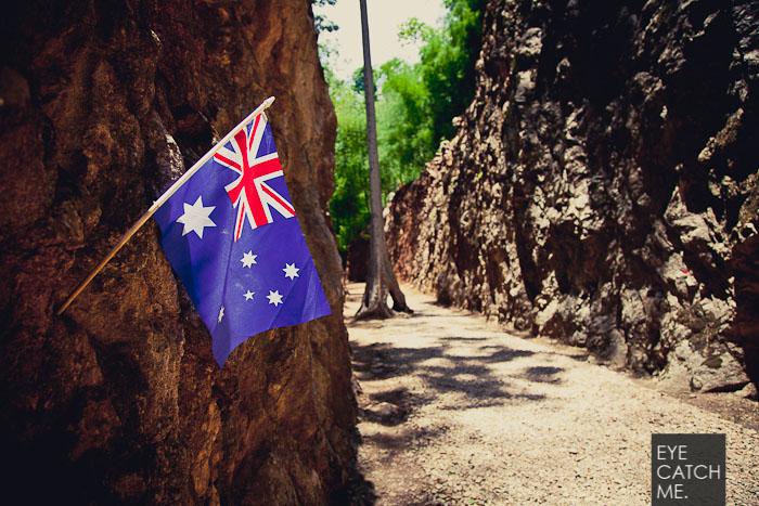 Viele Australische Gefangene starben bei den Arbeiten am Hellfire Pass, das Foto stammt vom Fotograf Eyecatchme